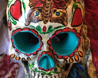 Day of the Dead, Sugar skull, Dia De los Muertos art