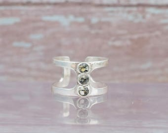 Silver Turtle Beach Sand Ring