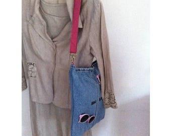 Bag by BAGART Pink waterproof lining