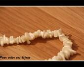 Lot de 100 perles de coquille nacré de 6-7mm à 10-20mm