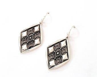 Hazel Silver Earrings