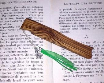 Bookmarks made of Bocote