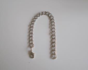21 cm double link bracelet
