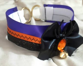 Halloween Kitten Play Collar (Made to Order)