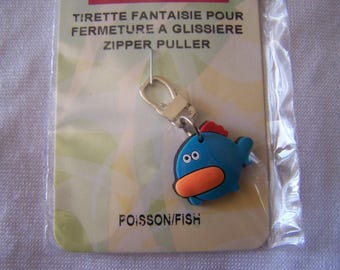 Pull for zipper, fish (90626)