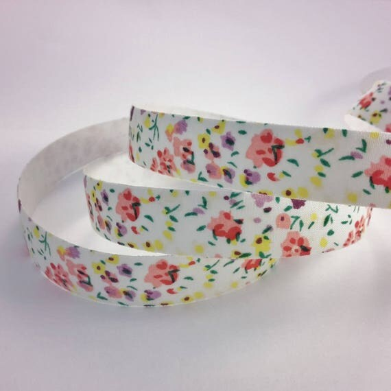 R - Tape adhesive liberty flower - 10 mm wide