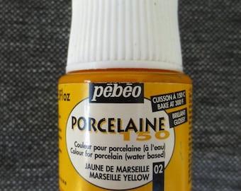 Painting porcelain 150 - 45ml - Pébéo - yellow marseille #02
