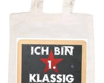 "Cotton bag ""I'm klassig 1"""
