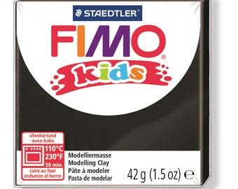 Polymer clay Kids 42 g - black N 9 - Ref 68030009