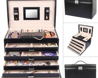 1 suitcase professional display black jewelry within 15 days