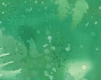Benartex - Fossil Fern - 528-29 - Parrot Green - 1 YD Increment