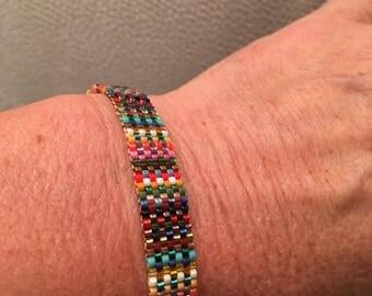 Miyuki Delicas Beads Bracelet