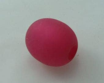 Olive polaris 20 x 22 mm pink matte