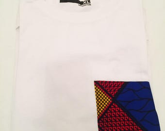 T-shirt with white Pocket wax