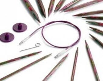Kit 8 pairs Knit Pro interchangeable circular needles