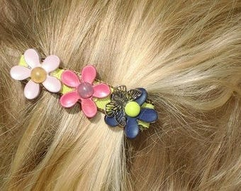Holiday Butterfly Barrette