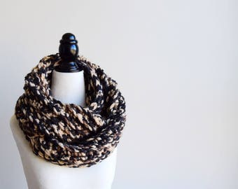 DESSERT Crochet Infinity Scarf | Crocheted Scarf | Infinity Scarf