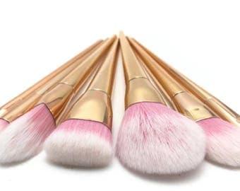 7 Piece Makeup Brush Ser