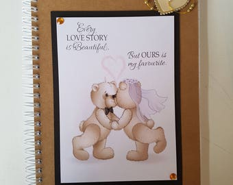 A5, Notebook, Wedding Notes, Quote, Notes