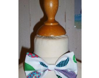 Bow tie boy print colorful