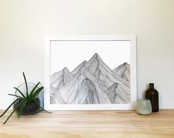 Mountian Drawing 3