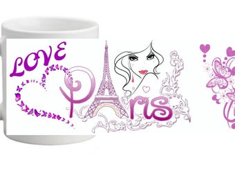 LLOVE PARIS MUG