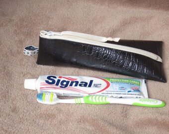 Toothbrush and toothpaste - size box Kit