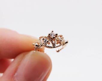 ROSE Gold ear ring