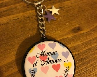 Love Grandma keychain