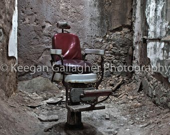 Barbers Chair- Eastern State Penitentiary