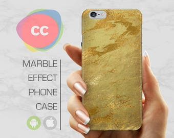 Gold Marble - iPhone 8 Case - iPhone 7 Case - iPhone X, iPhone 8 Plus, 7, 6, 6S, 5S, SE Cases - Samsung S8, S7, S6 Cases - PC-351