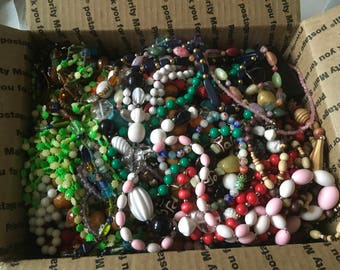 Z 17, Vintage to now assorted beaded mixed necklaces, wear, resell, gift