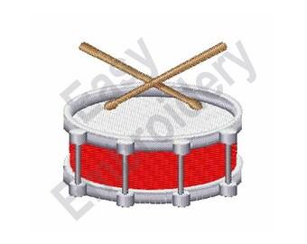 Drum - Machine Embroidery Design