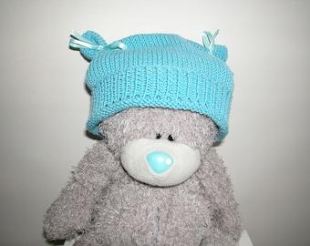 Baby boy blue fancy Hat