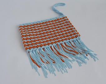 IceCube crochet clutch