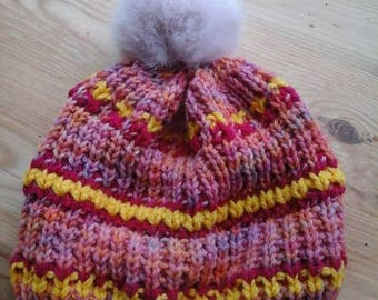 Woman Bobble Hat