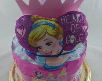 Princess diaper cake