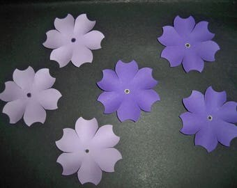 SCRAPBOOKING Lot Punch flower new color choice