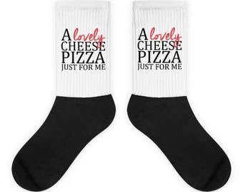 Home Alone - A Lovely Cheese Pizza Just For Me - Socks