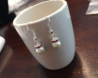 Christmas Ornament Earrings, Christmas Ornament, Xmas, Christmas Earrings, Ornament Earrings