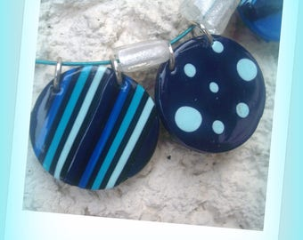 FIMO NECKLACE... the ocean... *.