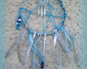 DREAM catcher - turquoise beads