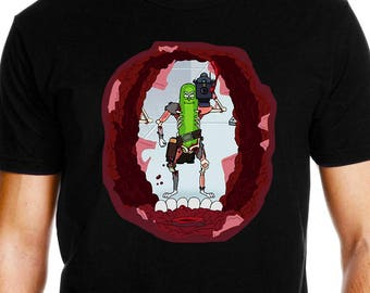 Pickle Rick Shirt - I'm Pickle Rick Shirt - Rick and Morty T Shirt - Rick Lazer T-shirt - Funny Rick and Morty Gift for Men and Women