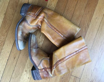 1960's Frye Riding Boots