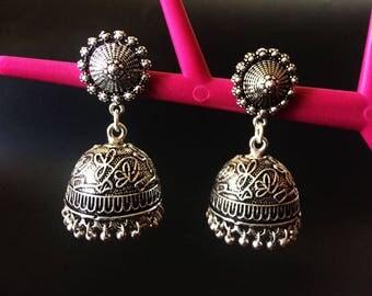 Intricate Design Earrings,  ethnic earrings, long earrings, handmade earrings,