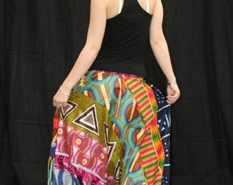 Harem pants sassa in African print 100% cotton.