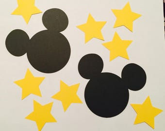 Disney Mickey with Stars; Includes 6 Mickey heads and 15 Stars