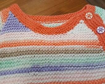 Handknitted Girls Dress