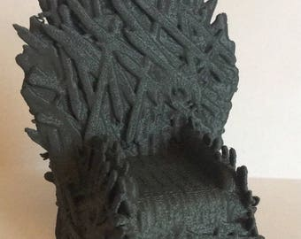 Game of Thrones Iron Throne 3D Printed Model