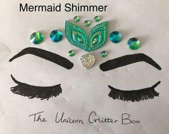 Festival Jewels - Mermaid Shimmer Face Gems
